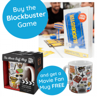 Blockbuster board game and free movie mug