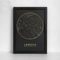 personalised star map pack